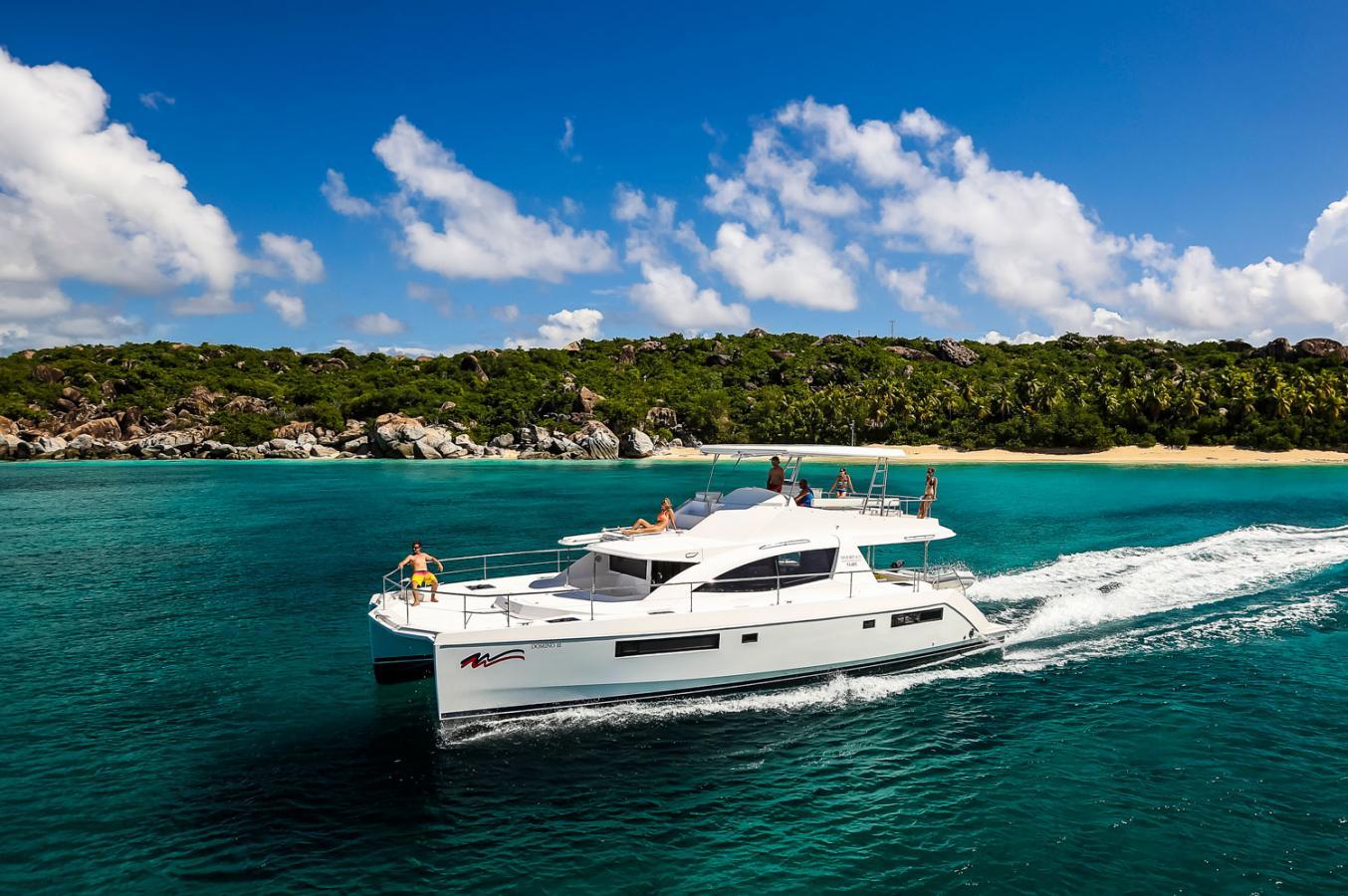 Moorings 514PC catamaran à moteur