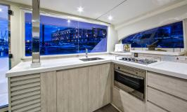 Moorings 4000 Galley