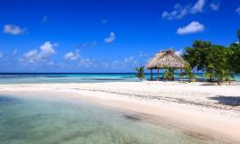 Moho Cay beach